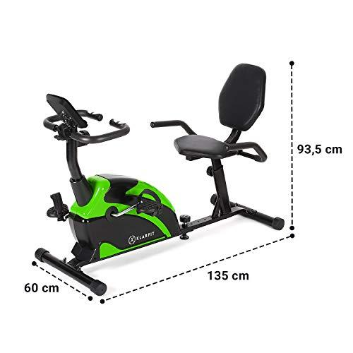 Klarfit Relaxbike 60 SE Liege-Ergometer Bild 5*