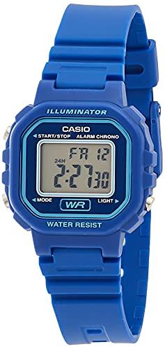 Casio Reloj Digital para Mujer de Cuarzo con Correa en Resina LA-20WH-2AEF