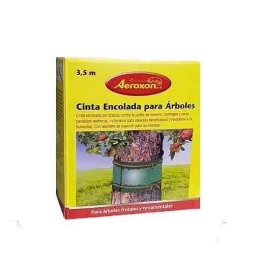 KOLLAND AEROXON Cinta - Cinta Adhesiva 3,5m para la Captura de Insectos voladores y Rastreros en árboles y Plantas