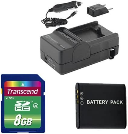 Ricoh WG-4 Digital Very popular Directly managed store Camera Accessory Kit Batter Includes: SDDLi92