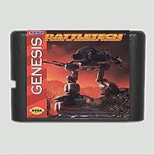 Linker Wish 16 Bit Sega MD Game Battletech 16 bit MD Game Card For Sega Mega Drive For Genesis