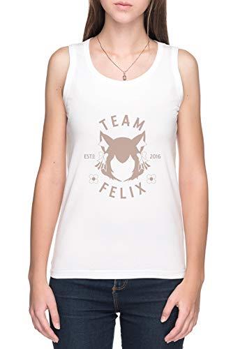 Team Felix De Tirantes Camiseta Mujer Blanco