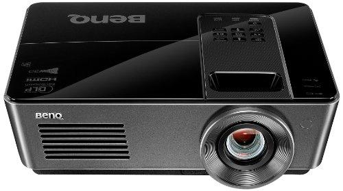 BenQ MH740 3D DLP-Projektor (New 3D 144Hz Triple Flash, Full HD, 1920x1080 Pixel, Kontrast 11.000:1, 4000 ANSI Lumen, 2x HDMI, 1,5x Zoom, LAN Control) schwarz