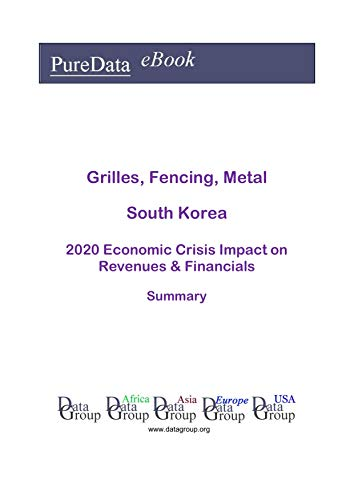 Grilles, Fencing, Metal South Korea Summary: 2020 Economic Crisis Impact on Revenues & Financials (English Edition)
