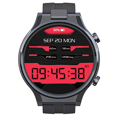 XYZK Reconocimiento Facial 4GB 64GB 13MP Cámara 1600Mah 2.1 Pulgadas Android 10 Reloj Full Touch Smart Watch IP68 Impermeable WiFi GPS Smartwatch
