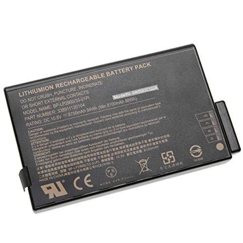 vhbw Akku passend für KDS 6370iPT, 6380iPTD, 6480iPTD, 6481CiPTD, 671DP, 671XH, Valiant 5240 Notebook (8700mAh, 10,8V, Li-Ion, schwarz)
