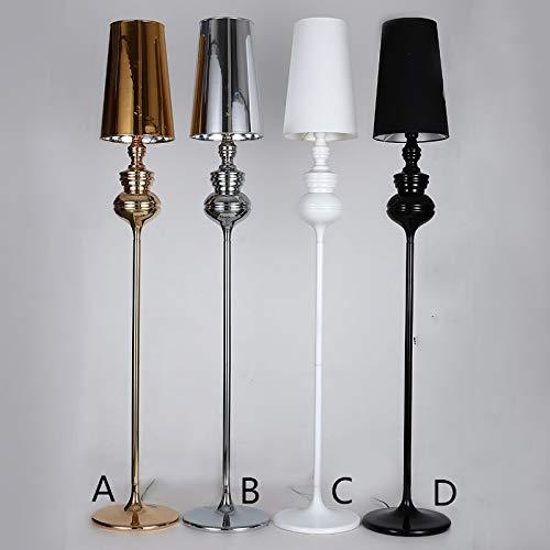 Lámparas de pie para salón Lámpara de pie de pie de noche de dormitorio posmoderno Simple Fashion Floor Light Creative Personalidad Guardia Lámpara de pie Lámpara de pie Lámparas de pie para salón Ilu