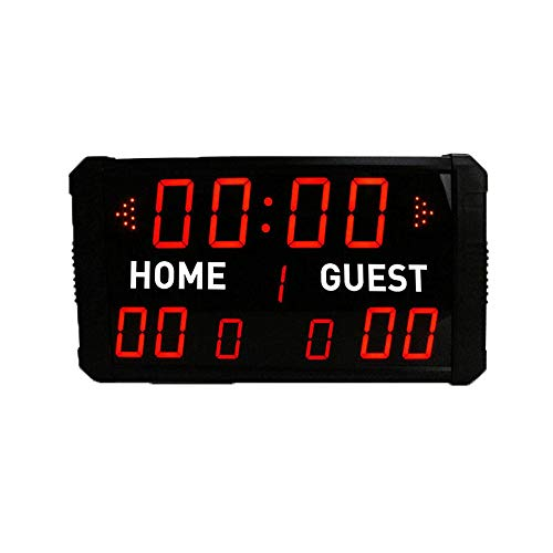 XTLXA LED Uhr Digital Uhr Große Wanduhr LED-Innen Professionelle 12/24/30 Sekunden Schussanzeiger Elektronische Digital for Basketball, Baseball/Fußball/Tennis