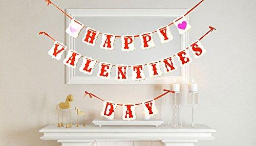 [usa-sales] Happy Valentines Day Banner, Valentinstag Dekorationen, von usa-sales Verkäufer
