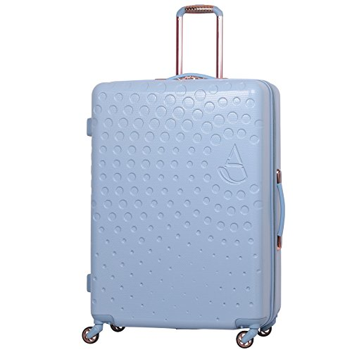 """Aerolite Large 29"""" Lightweight ABS Hard Shell 4 Wheel Hold Check in Luggage Suitcase,(Powder Blue)"""