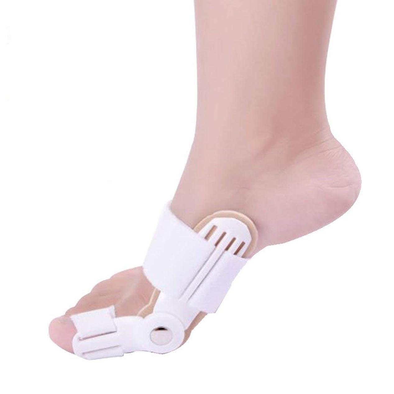 ジャムスロー生き残り腱膜瘤矯正、外反装具副木、痛み腱膜炎、男性と女性のための整形外科の腱膜副木、2ピース