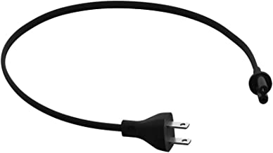 Sonos Short Power Cable for Play:5, Beam and Amp (Black)