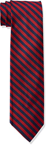 Brooks Brothers Tie Repp SL Bb5 Nvy Cravatta, Rosso (Red 600), One...