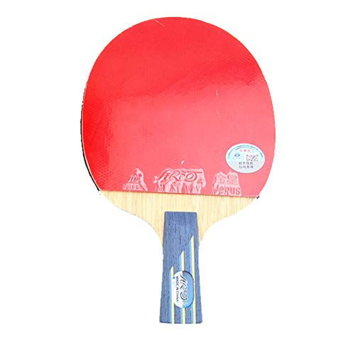 Check Out This 5 Layers of Pure Wood + 2 Layers of Carbon Wood Ping Pong Racket, Offensive Ping Pong...
