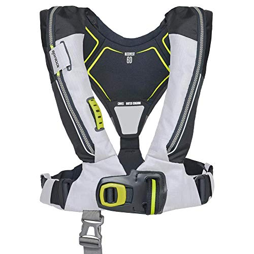 Sale!! Spinlock Deckvest Lifejacket Harness 6D 170N - Tropic White with HRS (Quick Release