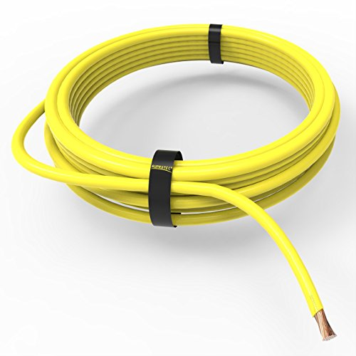 AUPROTEC Fahrzeugleitung 0,50 mm² FLRY-B als Ring 5m oder 10m Auswahl: 10m, gelb