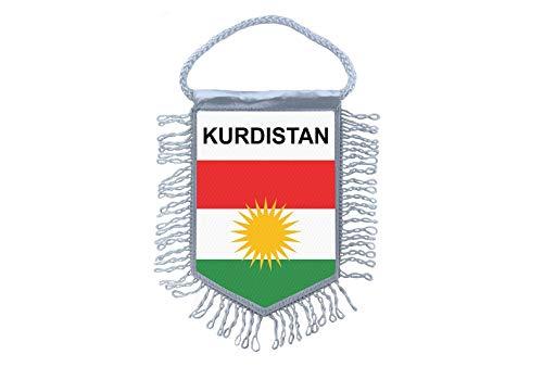 Akachafactory Wimpel Mini Flagge Fahne flaggen miniflagge Kurdistan kurdische