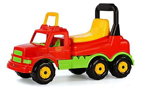 Polesie Waders Maxi rutscher Truck (Rouge/Jaune)