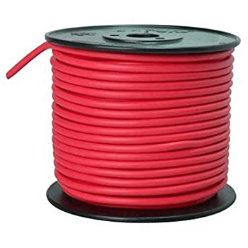 Southwire 55672123 Primary Wire 10-Gauge Bulk Spool 100-Feet Red