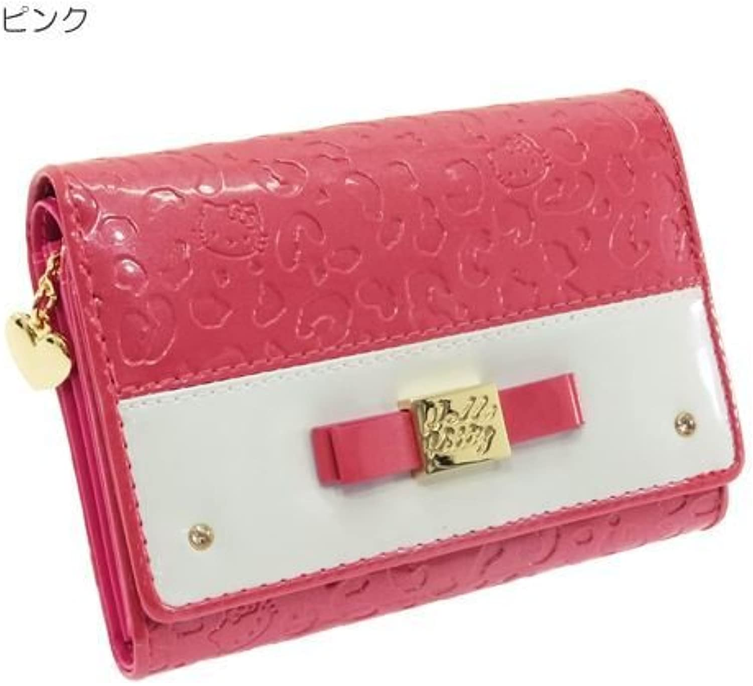 Hello Kitty leopard by in the color series LF wallet Pink KT4174