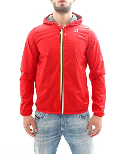 Giubbotto K.Way K007A10-19 Jacques Nylon Jersey K08-Red, L