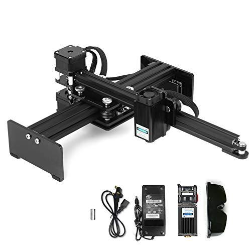 KeiFen 30w Engraving Machine Mini Desktop Engraver Printer Portable Carver DIY Logo Mark Printer Working Area 170 * 200mm