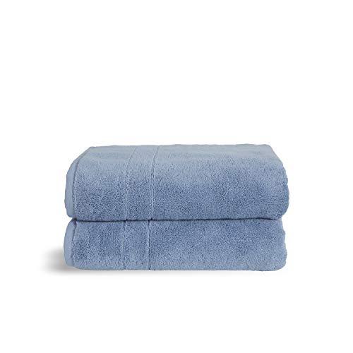 Brooklinen Bath Towels, Ocean Super-Plush - Set of 2