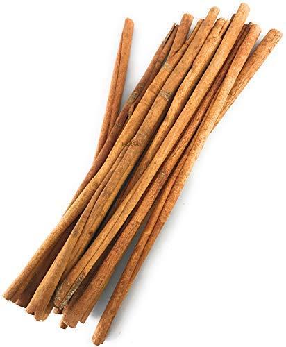INERRA 30cm Zimtstangen - Natürlich Getrocknet Quills für Weihnachten Kranz Bäume Potpourri Florist Dekoration - Natürlich Zimt, 200 Grams
