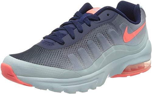 Nike W Air MAX Invigor Print, Zapatillas Mujer, Azul (Binary Blue/Lava Glow/Glacier Blue), 38.5 EU
