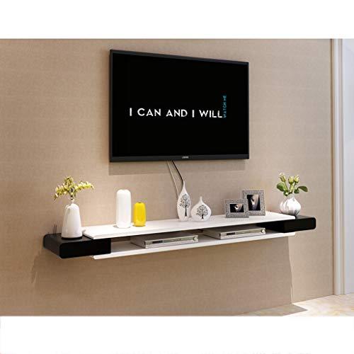 ZSCWMB Armario de pared Mueble de televisión Estante para televisor Estante para televisor Estante para consolas de TV Unidad de almacenamiento Estante para estante Estante para DVD Caja para cable de