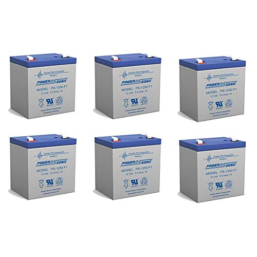 12V 5Ah SLA Replacement Battery Set for Razor E100 Electric Scooter