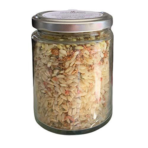 Risotto con Curcuma e Verdure 200 gr in vaso di vetro -...