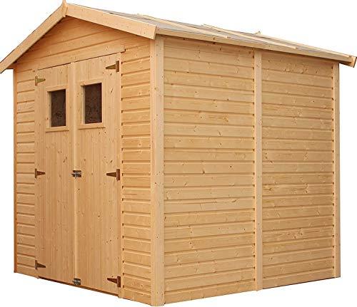 TIMBELA M351 Gartenhaus mit Veranda aus Holz -...