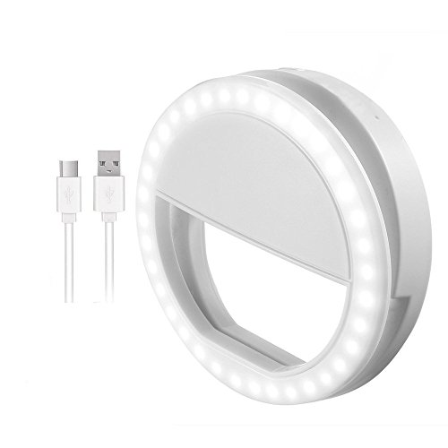 professionnel comparateur Anneau à selfie, anneau à selfie avec lumière LED pour caméra, 36 LED rechargeables… choix