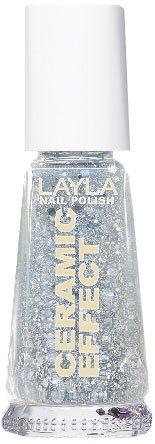 Layla Cosmetics 1243R23-051 Ceramic Effect nagellak - dancing with the Stars, 1 x 0,01 l