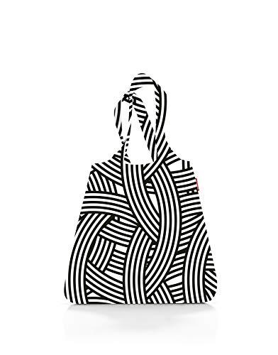 reisenthel mini maxi shopper Einkaufsbeutel 43,5 x 63 x 6 cm / 15 l / Polyester zebra