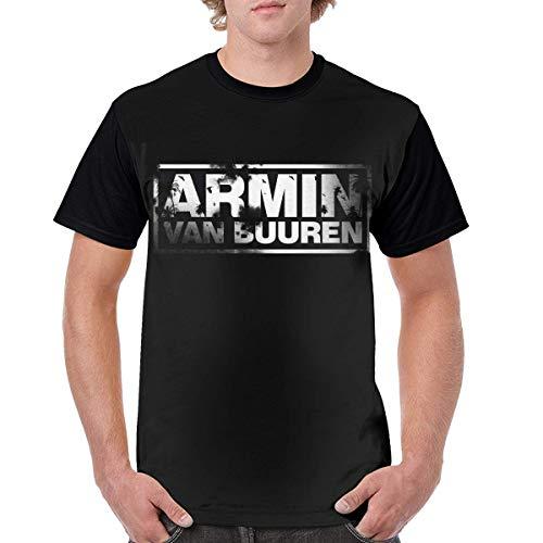 Armin Van Buuren Logo Men Short Sleeve T Shirt 3D Printed Graphic Round Neck Tees