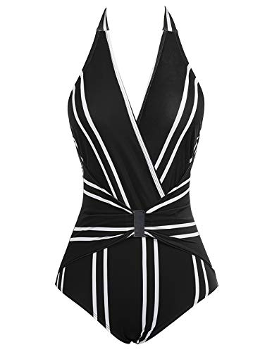 GRACE KARIN Bikini Women sexy Badeanzug Damen Tankini Set Push up bademode Damen Swimsuit XL CL979-1