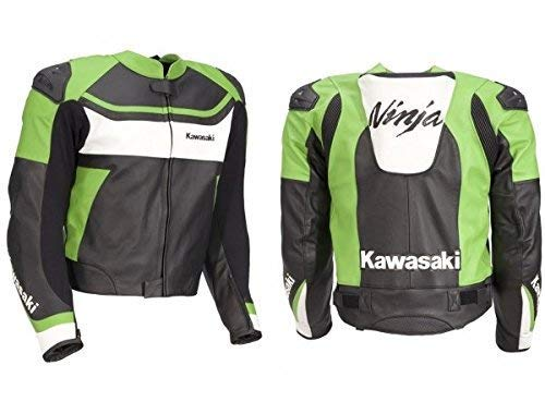 Kawasaki Lederjacke Ninja Motorradjacke Größe L
