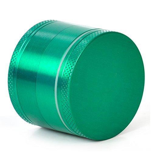 Eastar indien Crusher 2,0 pouces Zinc Lot de 4 SPICE Grinder du tabac vert