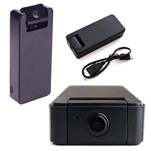 Mini Cámaras Espías WiFi de HD | Oculta | 360 Grados para Vigilancia Exterior e Interior
