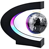 MOKOQI Magnetic Levitating Globe with LED Light, Cool Tech Gift for...