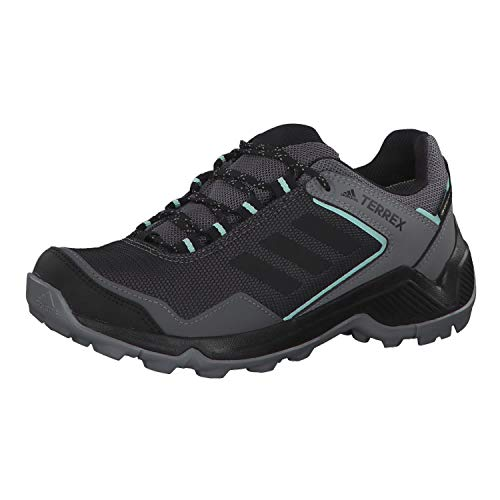 adidas Damen Terrex Eastrail Gore-TEX Walking Shoe, Grey/Core Black/Clear Mint, 38 2/3 EU