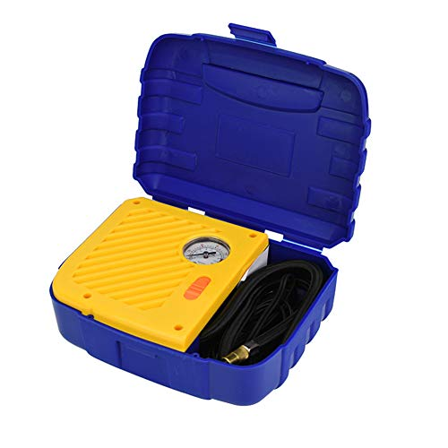 FAINT Autoluftpumpe Klein 12V Autoluftpumpe Tragbares Umweltschutzmaterial Reifendruck Echtzeitanzeige Luftpumpe