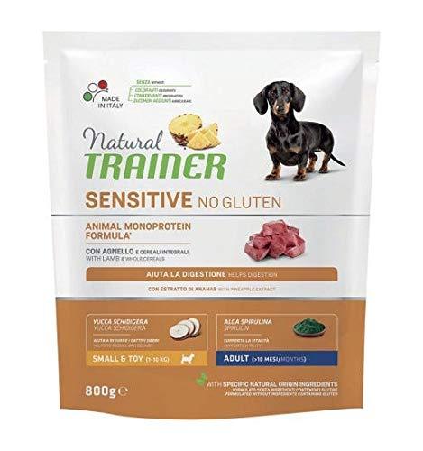 Trainer Natural Sensitive No Gluten Mini Adult Agnello 800 gr