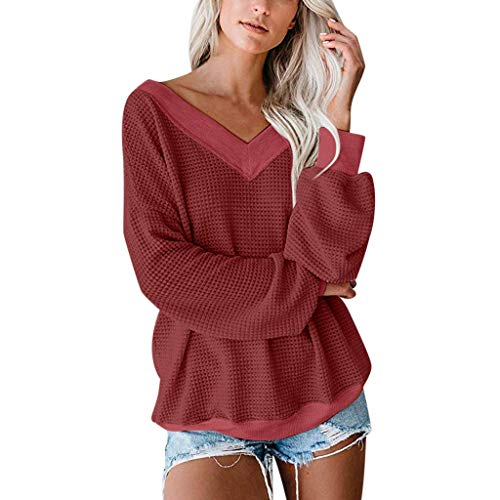 Mujer jerseis Chaqueta Punto Color Camel Marron Cardigan de Cardigans Fiesta Chaquetas Lana señora Jerseys de Punto Cuello Alto Mujer Camiseta jersei Verano con Camisa Chaquetas largas