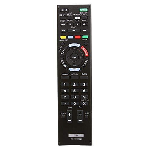 E-Life Generic mando a distancia apropiado para rm-yd096rm-yd094149229111KDL-60R510A kdl-70r550a para Sony LCD LED HDTV TV