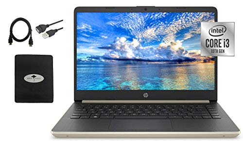 2021 Newest HP 14' HD Laptop for Business and Student, Intel Core i3-1005G1( i7-10510Y),...