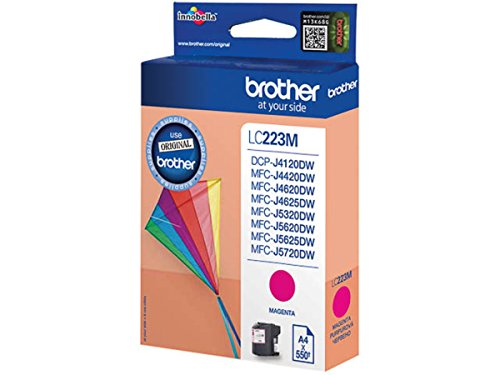 Brother original - Brother MFC-J 480 DW (LC223M) - Tintenpatrone Magenta - 550 Seiten - 5,9ml