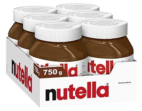 nutella Vorratspack, 6er Pack (6 x 750 g Glas)